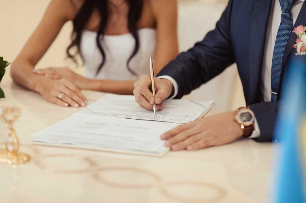 El matrimonio civil ante notario